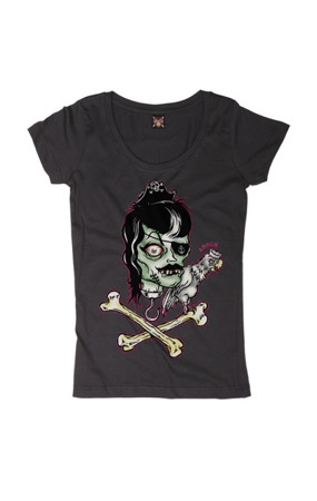 short sleeve T-Shirt LUCKY 13 PEE HEAD