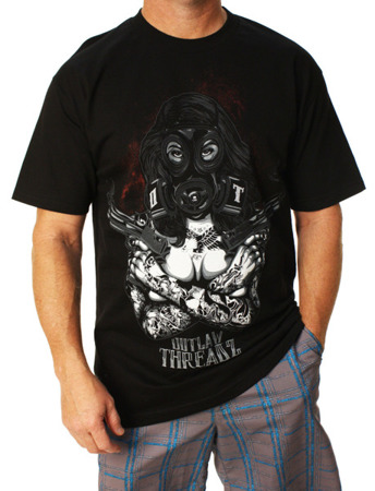 short sleeve T-Shirt OUTLAW THREADZ APOCALYPSE