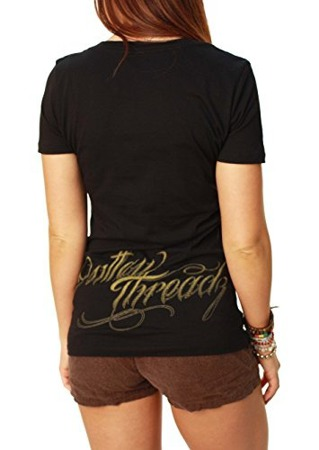 short sleeve T-Shirt OUTLAW THREADZ AT PEACE