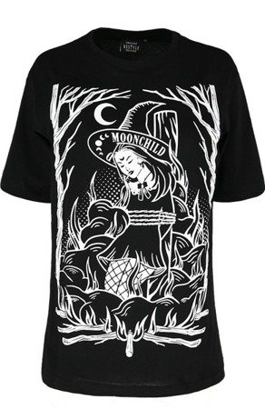 short sleeve T-Shirt RESTYLE BURN THE WITCH OVERSIZED