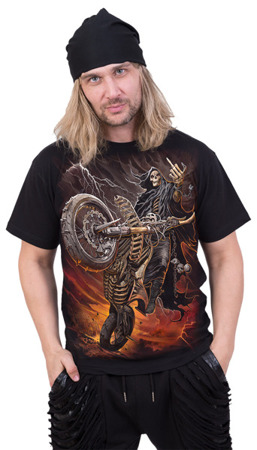 short sleeve T-Shirt SPIRAL  BIKE LIFE
