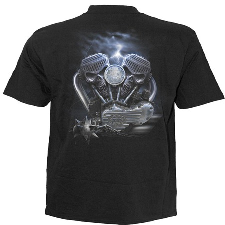 short sleeve T-Shirt SPIRAL RIDE TO HELL