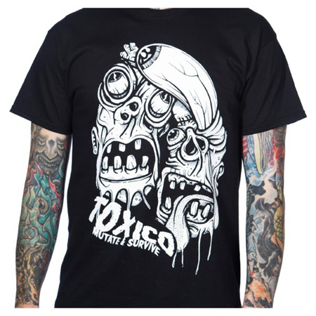short sleeve T-Shirt TOXICO BL MUTATE