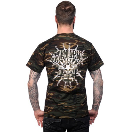 short sleeve T-Shirt TOXICO SATAN ARMY