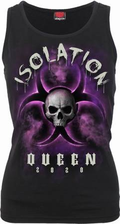 sleeveless T-Shirt SPIRAL ISOLATION QUEEN