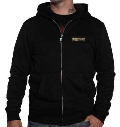 sweatshirt HYRAW BLACK FLAG