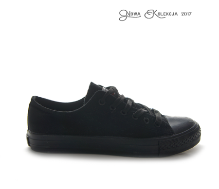 trainers SMITH's FULL BLACK-N