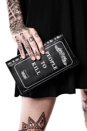 wallet KILLSTAR KILL LIST BOOK WALLET