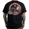 Short sleeve T-Shirt BLACK HEART RED BOBBER