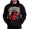 Sweatshirt BLACK HEART DEVIL