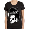 Short sleeve T-Shirt BLACK HEART HIPPY KILLER