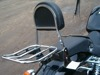 luggage rack MODEL 2 STANDARD HONDA VT 750 DC BLACK WIDOW