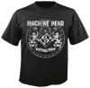 short sleeve T-Shirt NUCLEAR BLAST MACHINE HEAD CLASSIC CREST