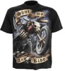 short sleeve T-Shirt SPIRAL SHUT UP AND RIDE
