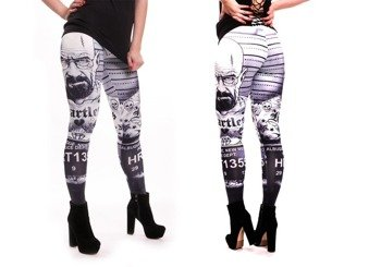spodnie POIZEN INDUSTRIES LEGGINGS METH LAB