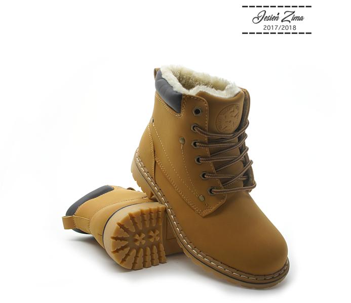 399b7938 buty zimowe SMITH's WORKER BROWN DAMSKIE | sklep rockowy metalRoute.pl