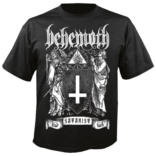 432edd8ccabe5c koszulka krótki rękaw NUCLEAR BLAST BEHEMOTH THE SATANIST | sklep ...