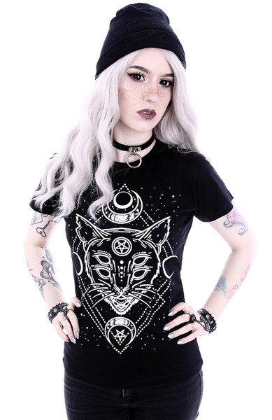 koszulka z krótkim rękawem RESTYLE GALAXY CAT