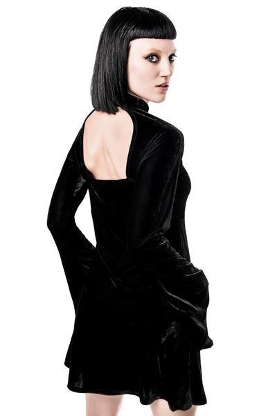 25a2f5064e ... sukienka KILLSTAR ZIVA SHE S EVIL VELVET DRESS ...