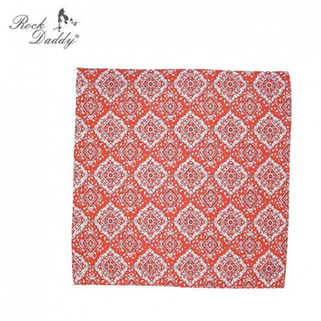 bandana ROCK DADDY PAISLEY RED