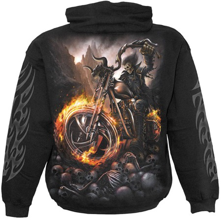 bluza SPIRAL WHEELS OF FIRE