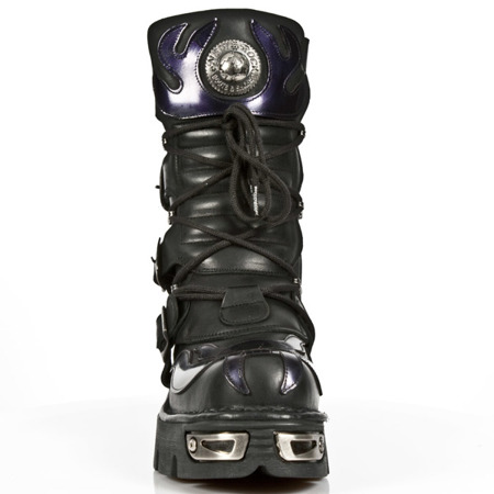 buty rockowe NEW ROCK METALLIC M.107-S4