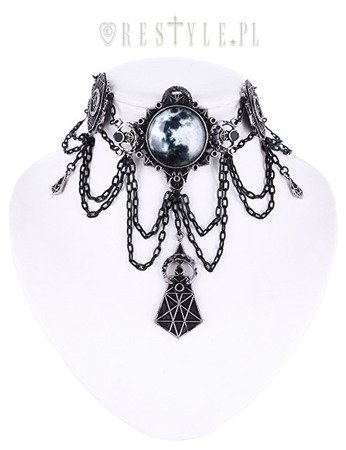 choker RESTYLE MOON GEOMETRY