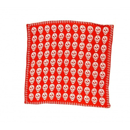 chusta ROCK DADDY BIG SKULLS RED