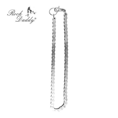 łańcuch do spodni ROCK DADDY SILVER WITH BICYCLE CHAIN