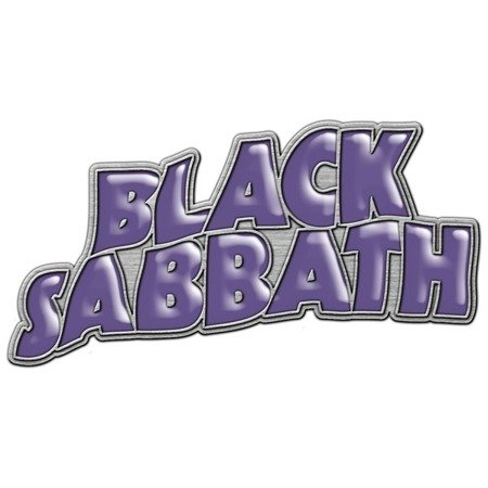 przypinka RAZAMATAZ BLACK SABBATH PURPLE LOGO
