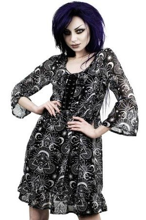 sukienka KILLSTAR NEW MOON BABYDOLL DRESS