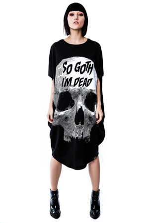 tunika KILLSTAR SO GOTH TUNIC DRESS