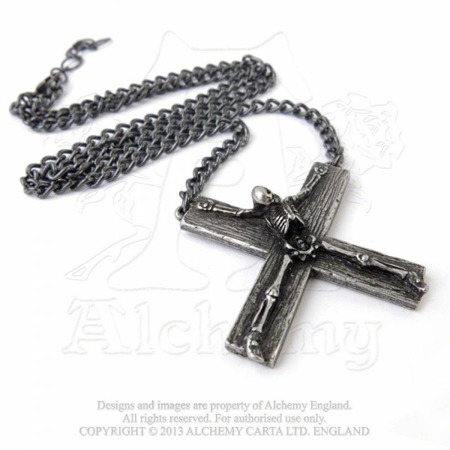 wisior ALCHEMY GOTHIC CRUCIFACTION