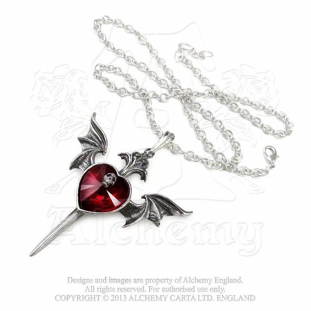 wisior ALCHEMY GOTHIC DEATH OF A VAMPIRE