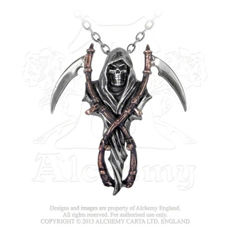 wisior ALCHEMY GOTHIC REAPER'S ARMS